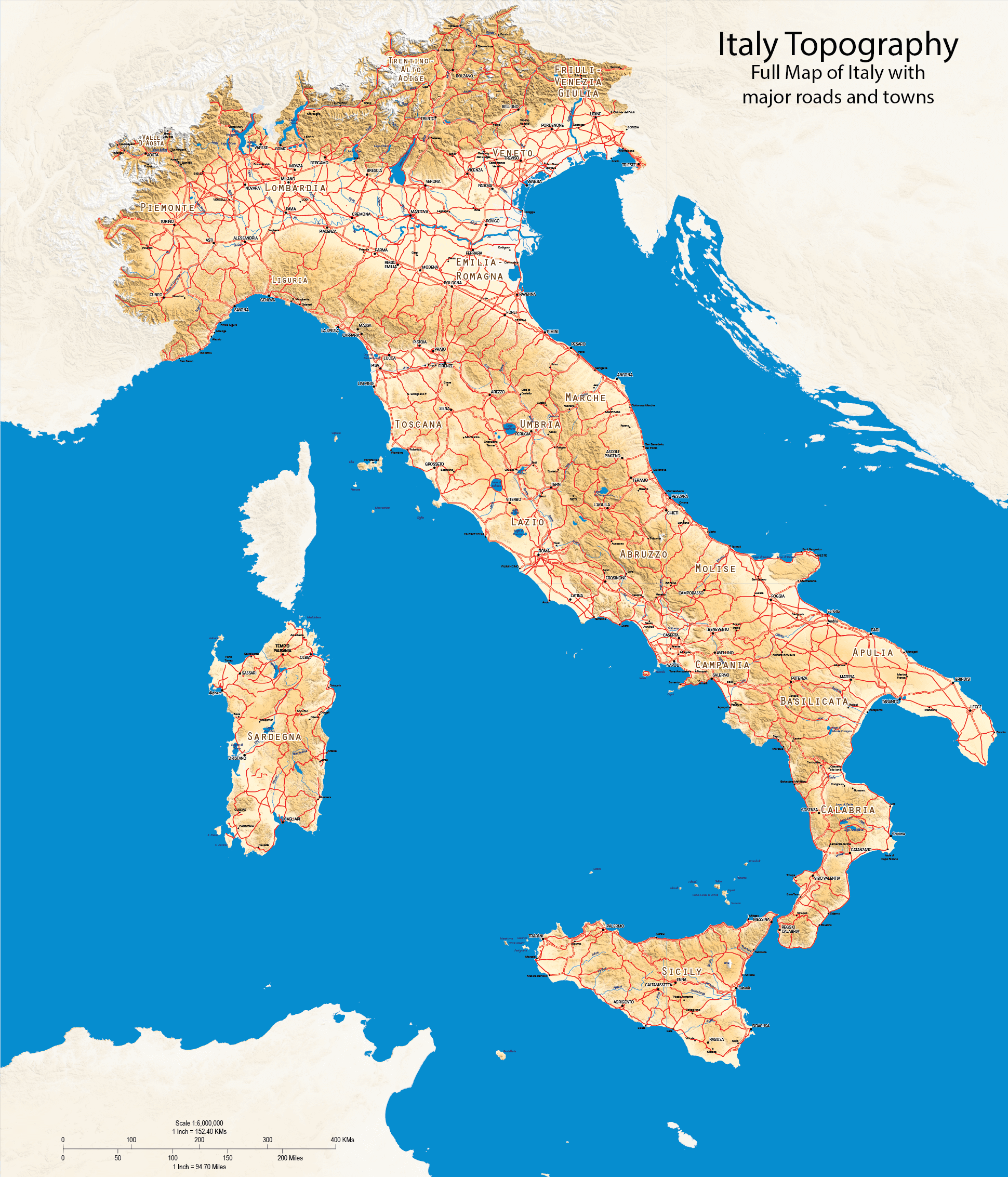 General purpose maps freelance maps freelance gis free maps italy terrain map gumiabroncs Images